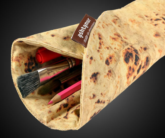Pita Bread Pencil Case