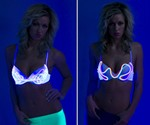 Sound-Activated EL Wire Bra