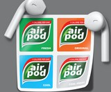 Apple AirPod Case Tic Tac Decals