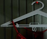 AR-15 Rifle Clothes Hangers
