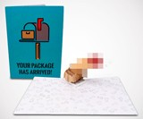 Dirty Pop Adult Pop Up Greeting Cards (NSFW)
