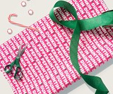 Dunkin' Peppermint Mocha Scented Wrappin' Paper