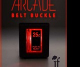 Light-up Arcade Belt Buckles