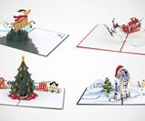 Lovepop Holiday Pop-Up Cards