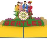 Lovepop The Beatles Pop-Up Cards