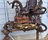 Pearl Driver Octopus Water Fountain