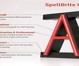 SpellBrite Portable Interlocking LED Letters