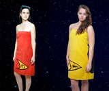 Star Trek Towels in Red & Yellow