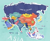 The Literal Translation of Country Names Map