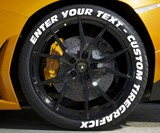 Tire Graficx Custom Tire Decals