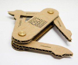 Business Knife - Multi-Tool Business Card