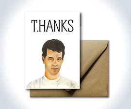 T.HANKS Thank You Card