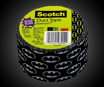 Glow-in-the-Dark Batman Duct Tape