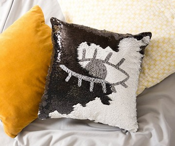 Reversible Sequin Mermaid Pillows