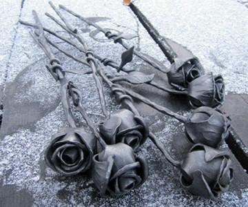 Steel Roses