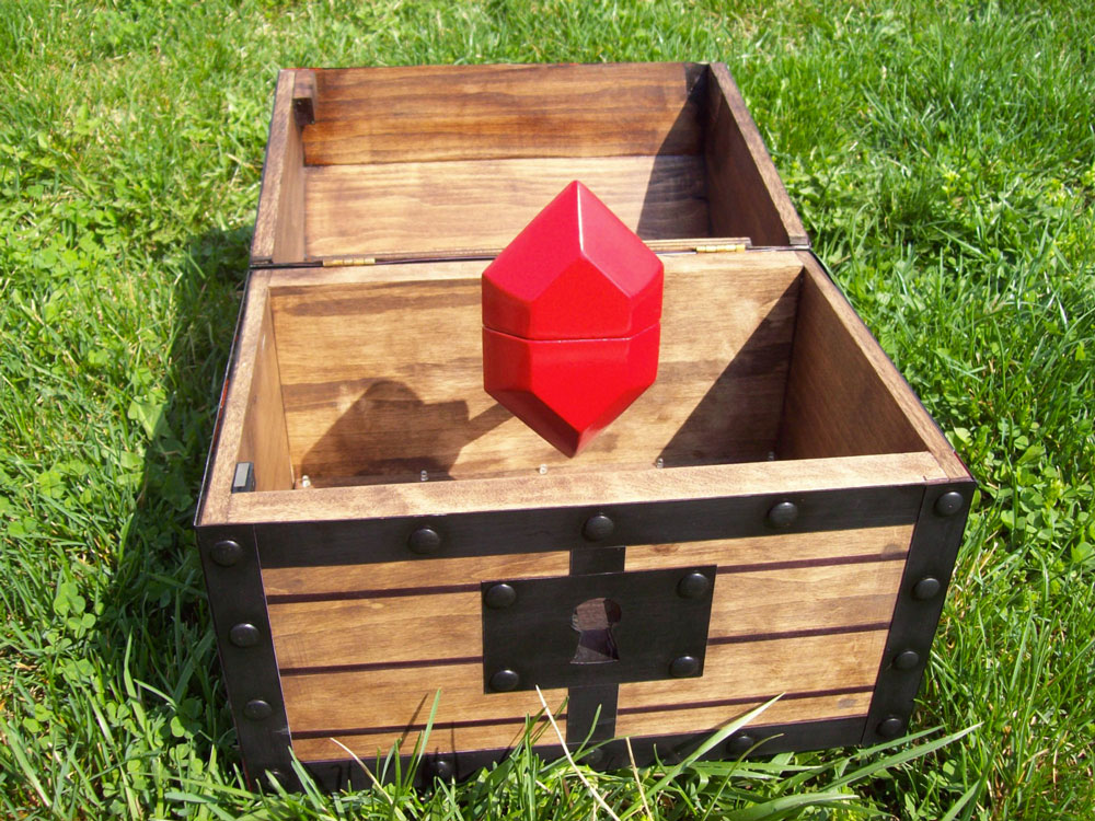 Zelda Engagement Chest Amp Rupee Ring Box Dudeiwantthat Com
