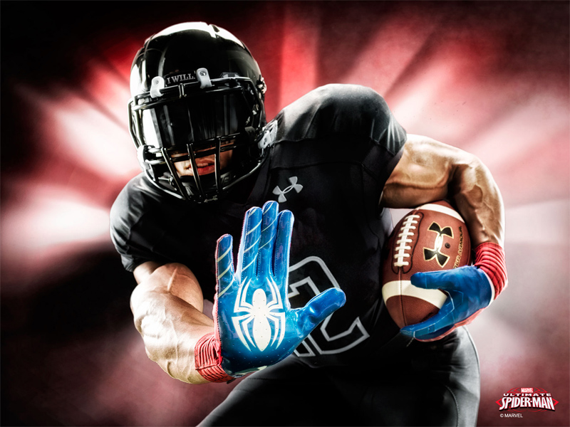 Alter Ego Football Gloves - DudeIWantThat.com