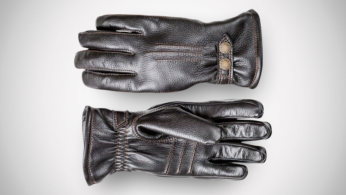Hestra Men's Winter Leather Gloves