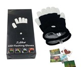 Flashing Finger LED Gloves