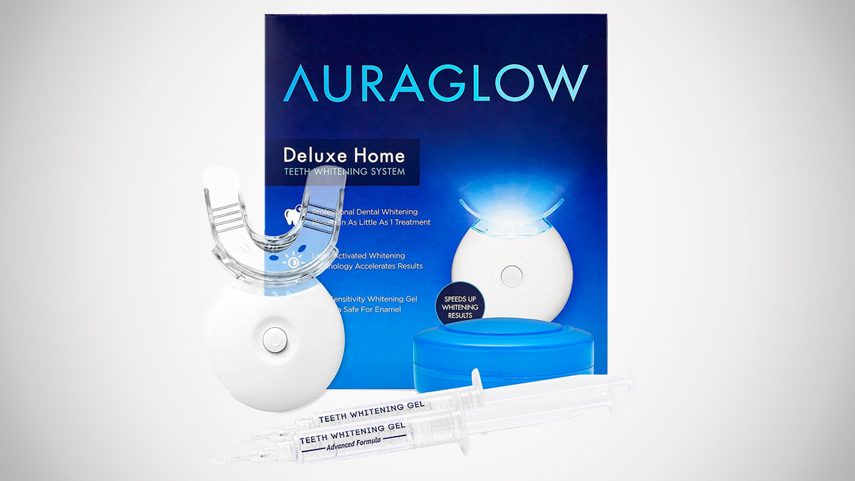 AuraGlow LED Teeth Whitening Kit