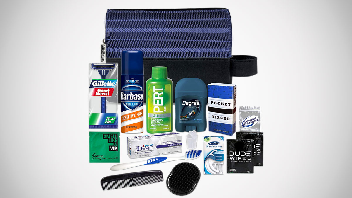 Convenience Kits Men's Toiletry Travel Kits