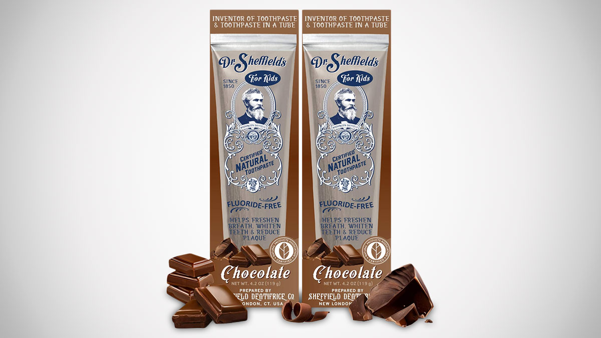 Dr. Sheffield's Chocolate Toothpaste