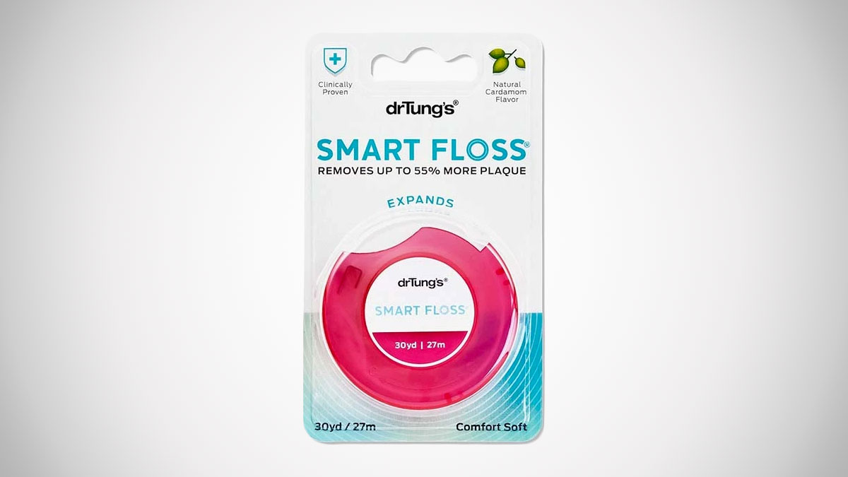 Dr. Tung's Smart Floss Cardamom Dental Floss