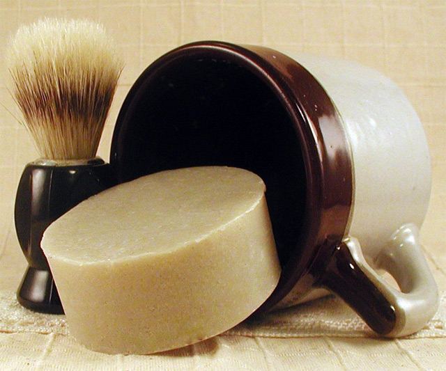 Pipe Tobacco Shaving Soap