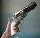 The 357 Magnum Gun Hair Dryer
