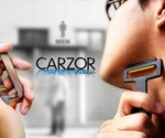 Credit Card Razor & Mirror