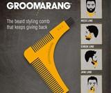 Groomarang Beard Styling & Shaping Template