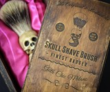Handmade Skull Shaving Brush