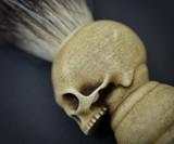 Handmade Skull Shaving Brush