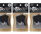 Hello Oral Care Activated Charcoal Infused Floss