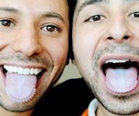 Tongue-Mounted Toothbrush