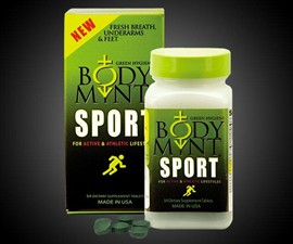 Body Mint Internal Deodorant Pills