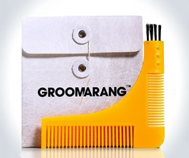 Groomarang Beard Styling & Shaping Template