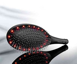 Light & Massage Therapy Hairbrush