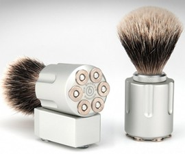 Six Shooter Shave Brushes