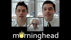 Morninghead: Man's 5-Second Hairstylist