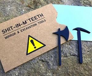 SH*T-IN-M'TEETH Toothpicks