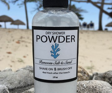 Dry Shower Powder