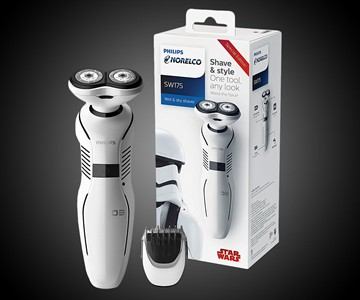 Star Wars Storm Trooper Electric Shaver