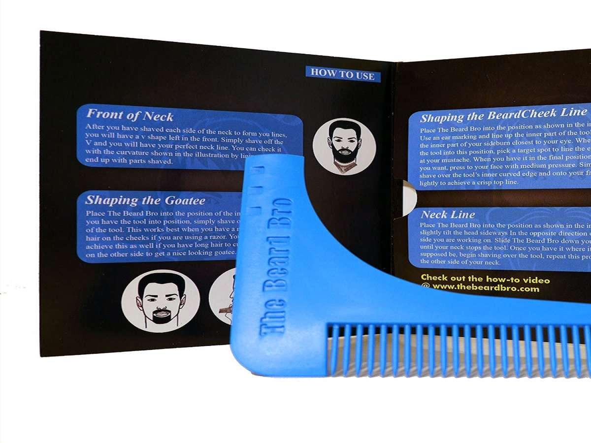 The Beard Bro Beard-Shaping Tool | DudeIWantThat.com