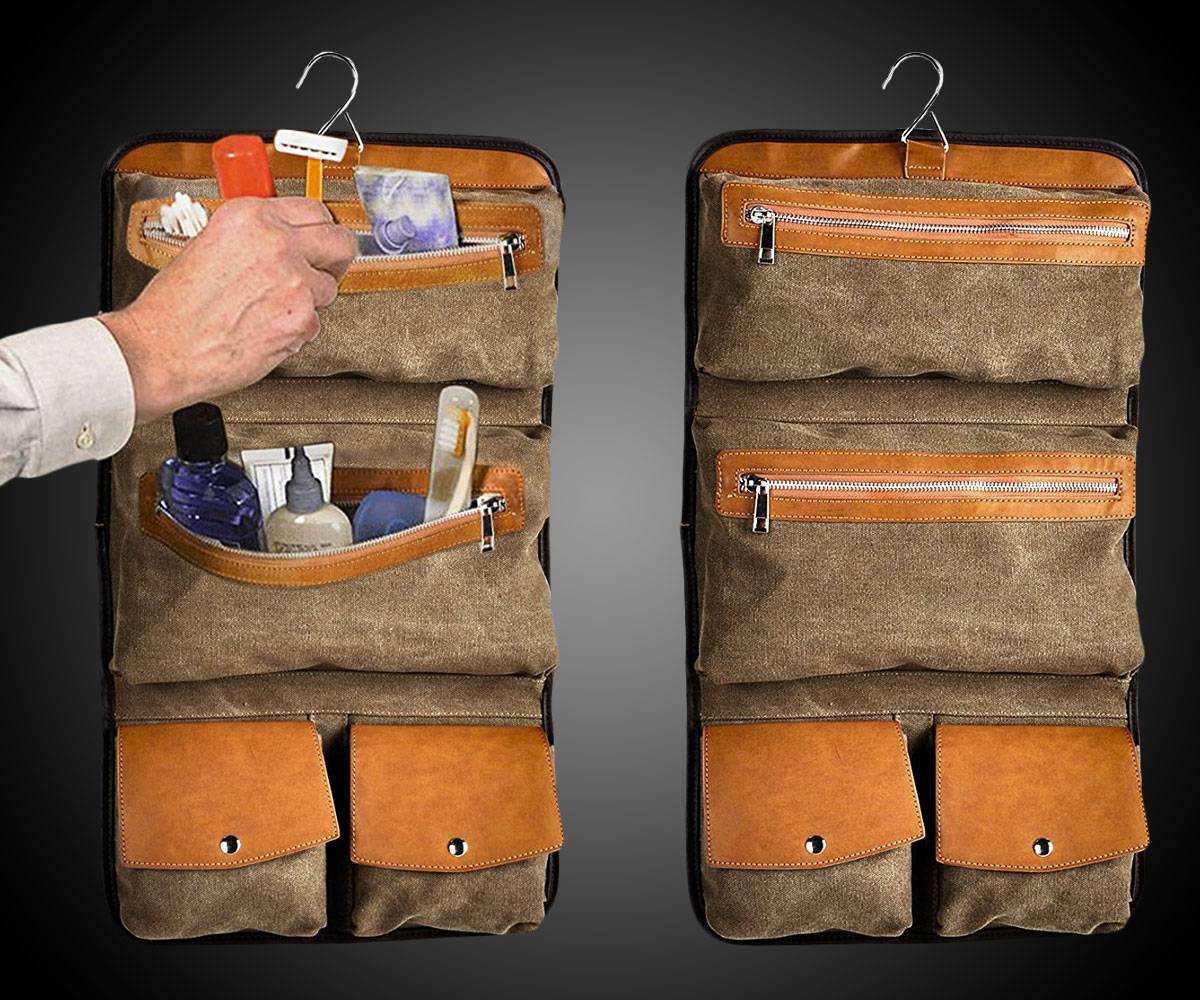 Hanging Toiletry Bag Travel Organizer