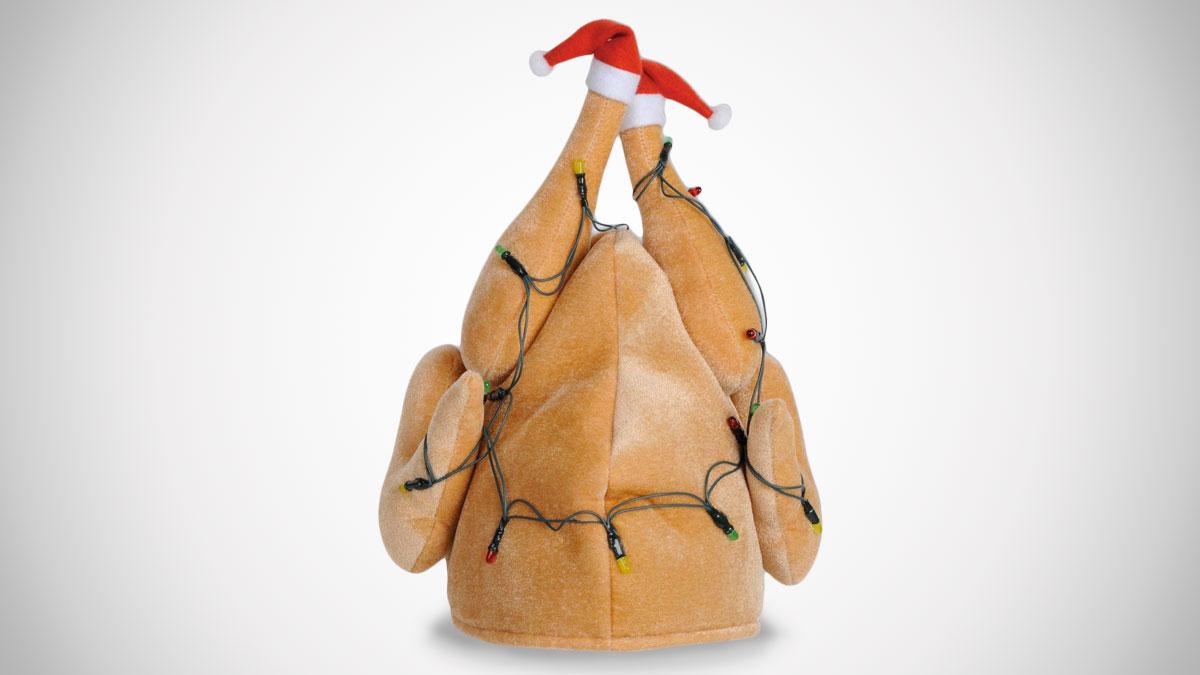 Light-Up Christmas Turkey Hat