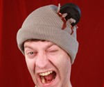 Bloody Hockey Puck Beanie