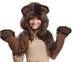 Brown Bear Hoodie