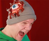 Bloody Eyeball Beanie