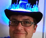 LED Steampunk Top Hat